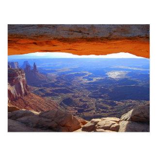 Mesa Arch at Sunrise Postcard