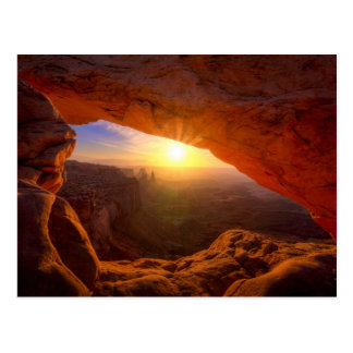 Mesa Arch, Canyonlands National Park Postcard