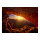 Mesa Arch, Canyonlands National Park Poster