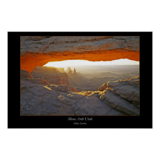 Mesa Arch Poster