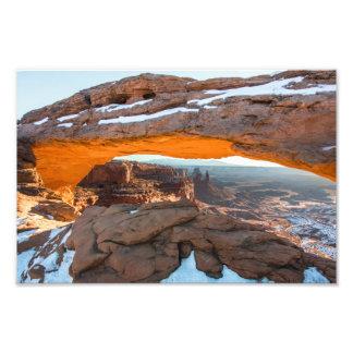 Mesa Arch Sunrise Photo Print