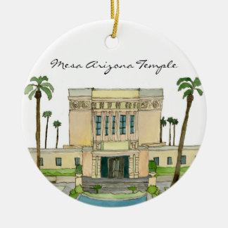 Mesa Arizona Temple Ceramic Ornament