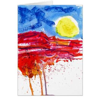 Mesa Roja Card