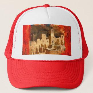 Mesa Verde Adobe Cliffs Southwestern Trucker Hat
