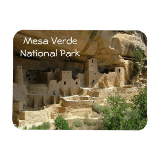 Mesa Verde National Park Rectangular Photo Magnet