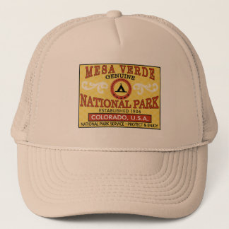 Mesa Verde National Park Trucker Hat