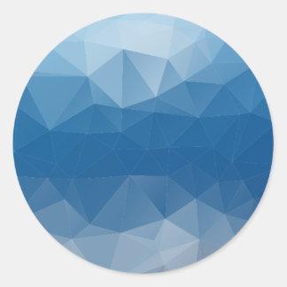 Mesh Classic Round Sticker