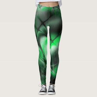 Meshed (jade-stone) leggings