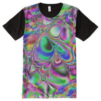 Meshed (psy) All-Over-Print T-Shirt