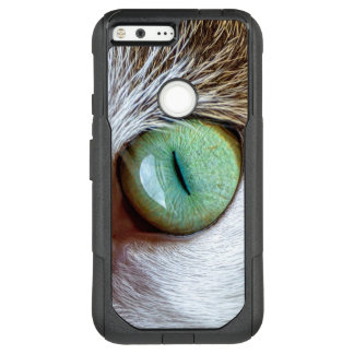 Mesmerizing Green Cat Eye OtterBox Commuter Google Pixel XL Case