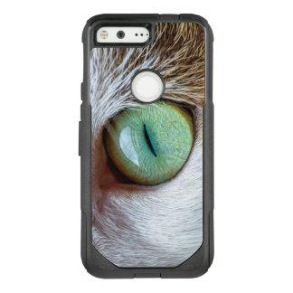 Mesmerizing Green Cat's Eye OtterBox Commuter Google Pixel Case