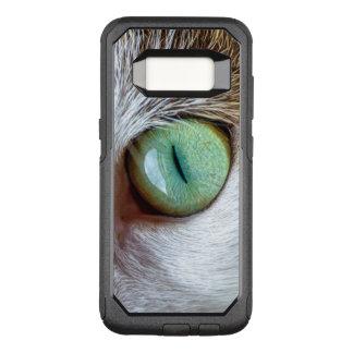 Mesmerizing Green Cat's Eye OtterBox Commuter Samsung Galaxy S8 Case