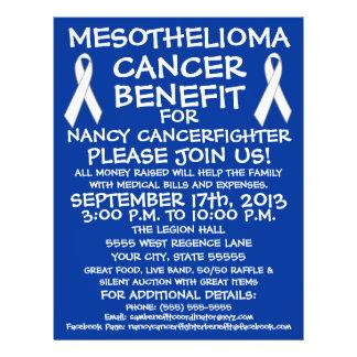Mesothelioma Cancer Benefit Flyer