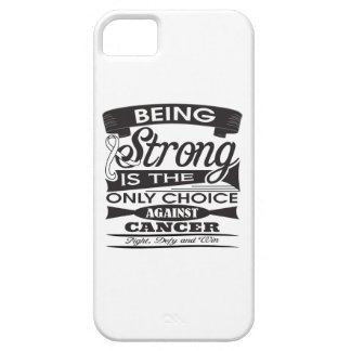 Mesothelioma Strong is The Only Choice iPhone 5 Case
