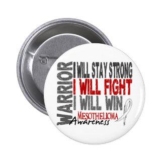 Mesothelioma Warrior 2 Inch Round Button