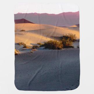 Mesquite Flat sand dunes Death Valley Baby Blanket