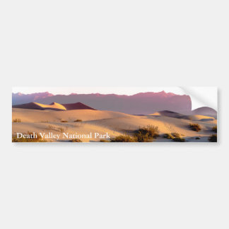Mesquite Flat sand dunes Death Valley Bumper Sticker