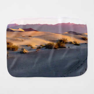 Mesquite Flat sand dunes Death Valley Burp Cloth
