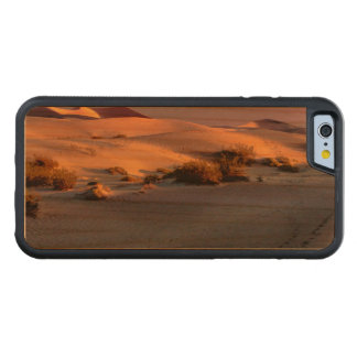 Mesquite Flat sand dunes Death Valley Carved Cherry iPhone 6 Bumper Case
