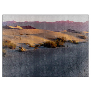Mesquite Flat sand dunes Death Valley Cutting Board