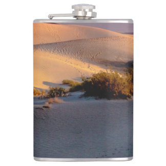 Mesquite Flat sand dunes Death Valley Hip Flask