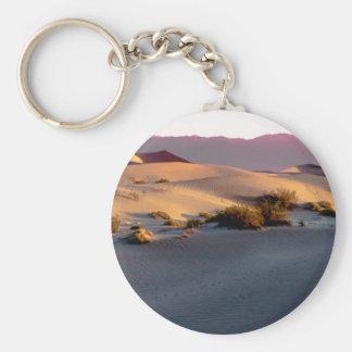 Mesquite Flat sand dunes Death Valley Keychain