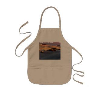 Mesquite Flat sand dunes Death Valley Kids Apron