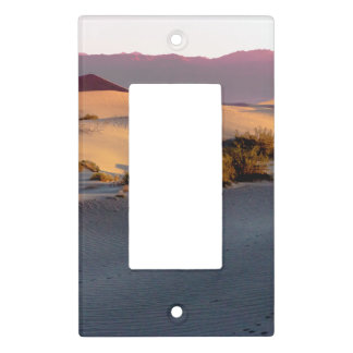 Mesquite Flat sand dunes Death Valley Light Switch Cover