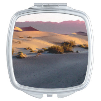 Mesquite Flat sand dunes Death Valley Makeup Mirror