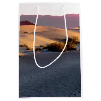 Mesquite Flat sand dunes Death Valley Medium Gift Bag