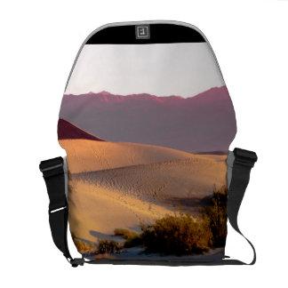 Mesquite Flat sand dunes Death Valley Messenger Bags