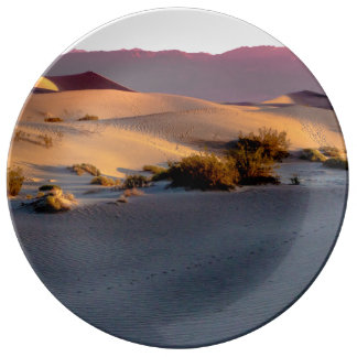 Mesquite Flat sand dunes Death Valley Plate