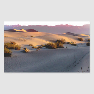 Mesquite Flat sand dunes Death Valley Sticker