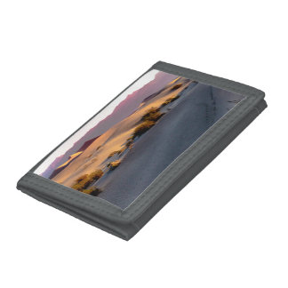 Mesquite Flat sand dunes Death Valley Trifold Wallets