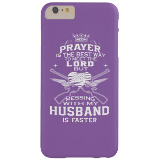 Mess With My Husband! Barely There iPhone 6 Plus Case