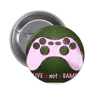 message 2 inch round button