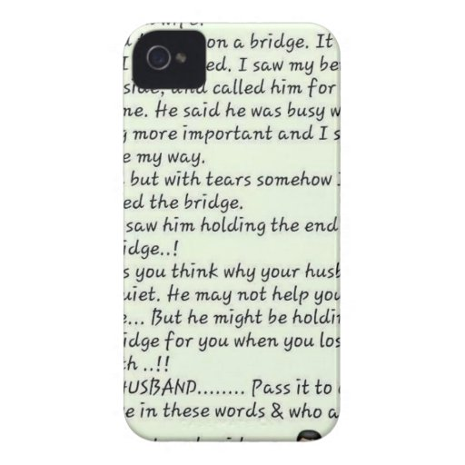 Message from wife iPhone 4 cases