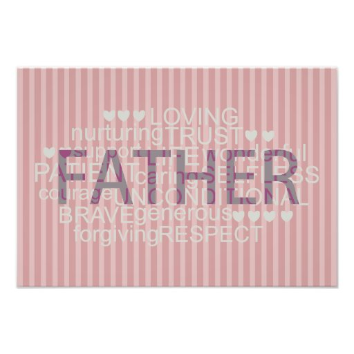 message gift for 'best dad' Photo Enlargement