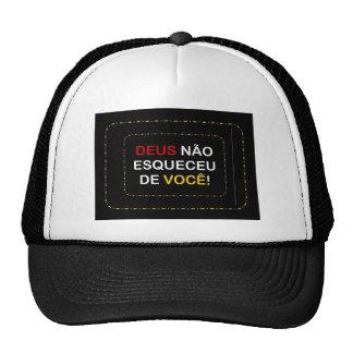 message trucker hat