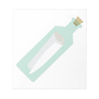 Message In Bottle Notepad