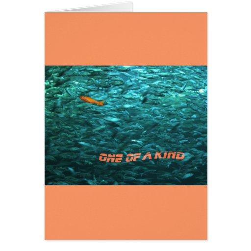 message motivationnel one of the kind cartes