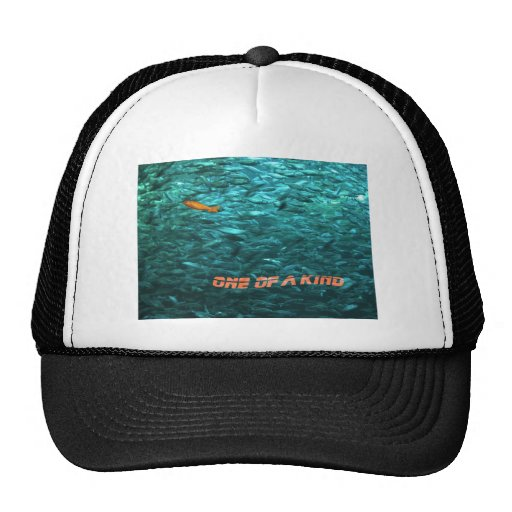 message motivationnel one of the kind casquettes