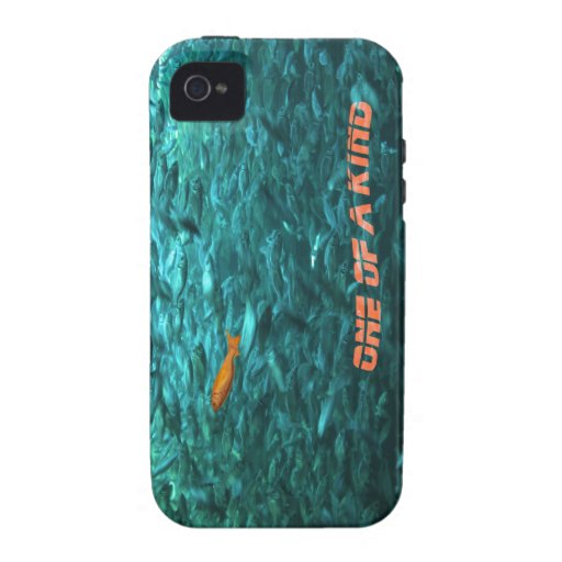 message motivationnel one of the kind coque Case-Mate iPhone 4