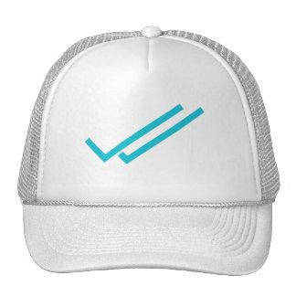 message read trucker hat