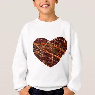 Messed heart sweatshirt