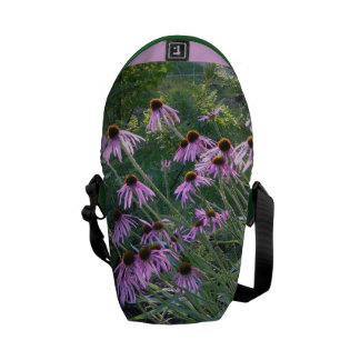 Messenger Bag - Coneflowers