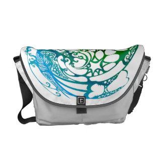 messenger bag - fishing under the stars
