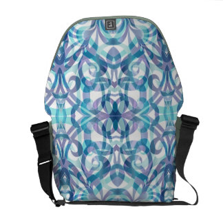 Messenger Bag Floral abstract background