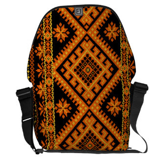 Messenger Bag LARGE Ukrainian Embroidery
