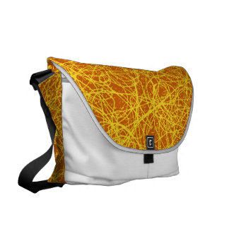 Messenger Bag Orange Network